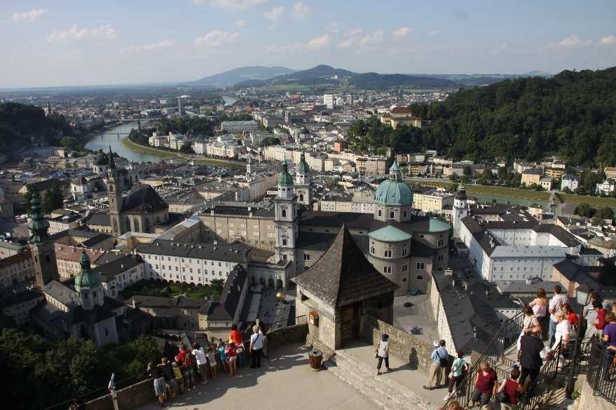 0334_21 Aug 2010_Salzburg_Festung Hohensalzburg_Innenhof_Aussicht_Dom