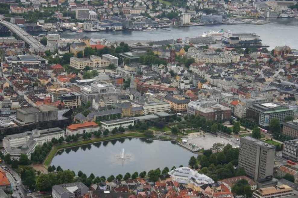 Bild 3134 - Norwegen, Bergen, auf dem Fløyen
