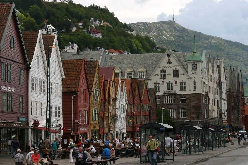 Bild 3050 - Norwegen, Bergen, Bryggen