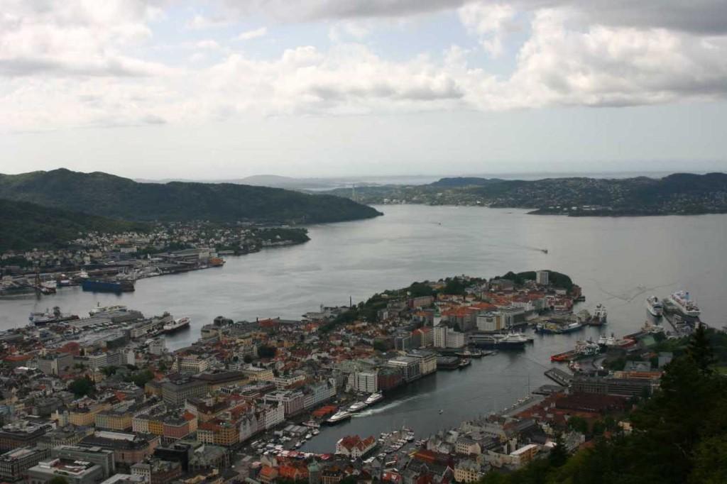 Bild 3120 - Norwegen, Bergen, auf dem Fløyen
