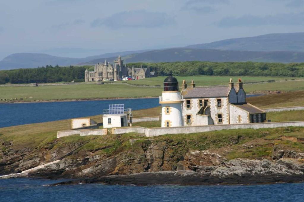 Bild 0326 - Orkney Inseln, Leuchtturm & Castle