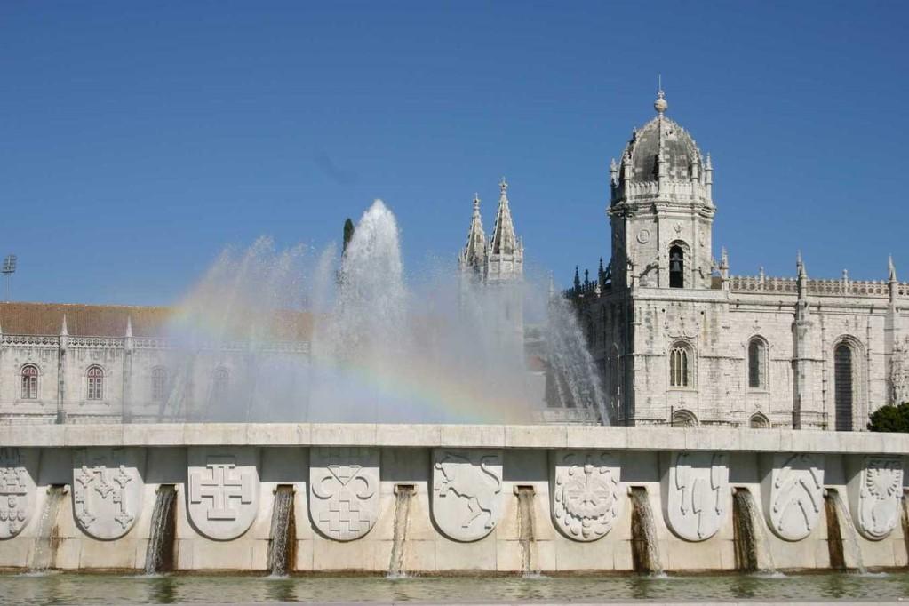 0167_31 Okt 07_Lissabon_Belem_Hieronymuskloster_Regenbogen