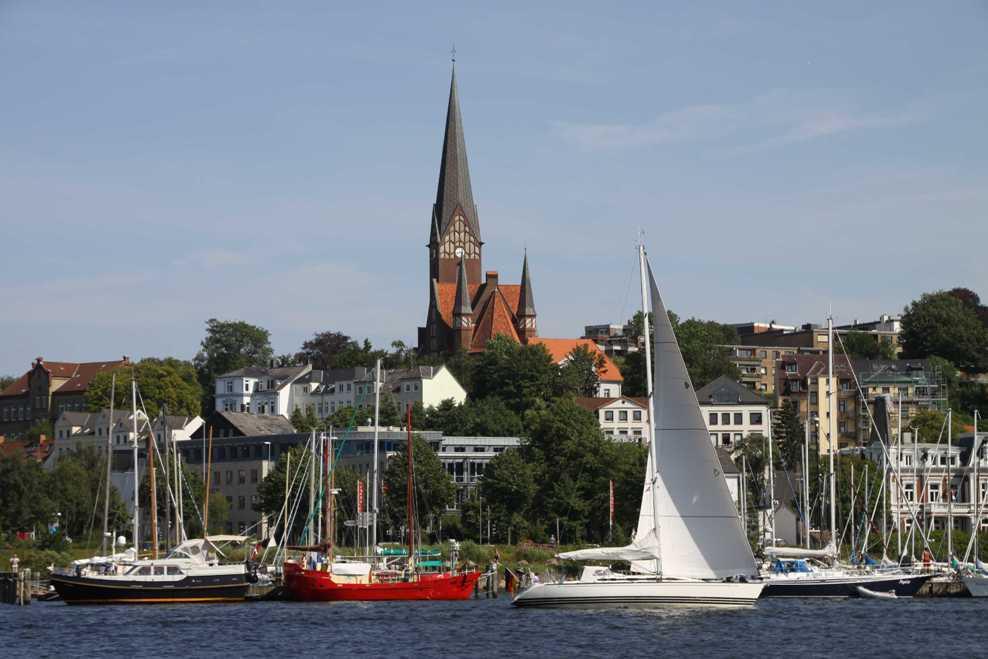 0237_30 Juli 2011_Flensburg_Hafen_Kirche St. Jürgen