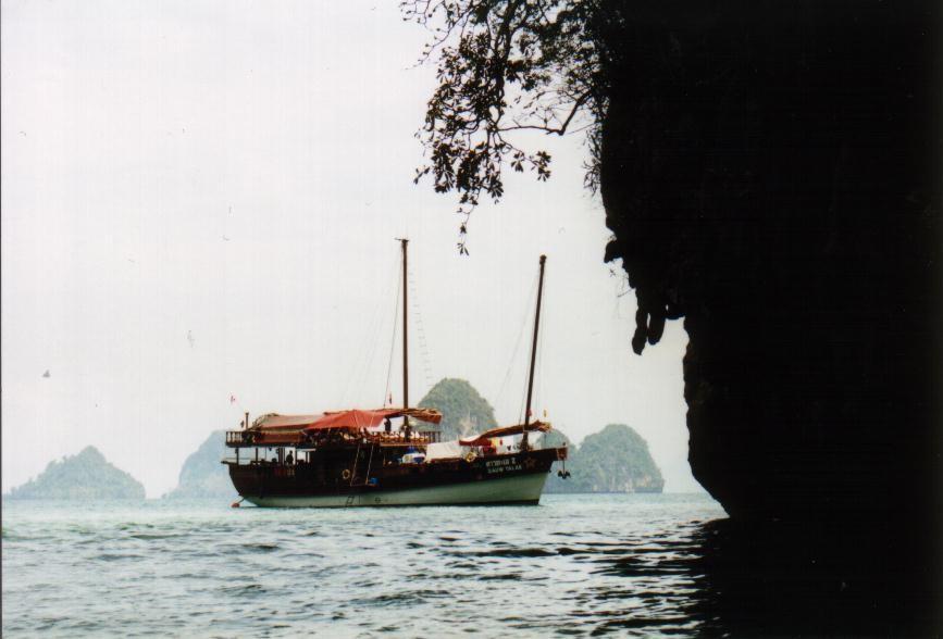 Dauw Talae II in der Ko Hong Lagune