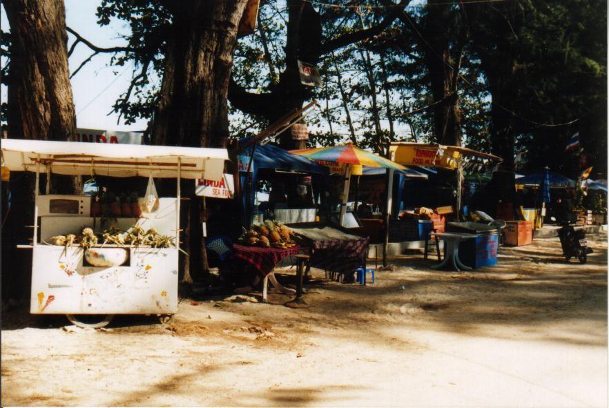 Garküchen am Nai Yang Beach, Phuket