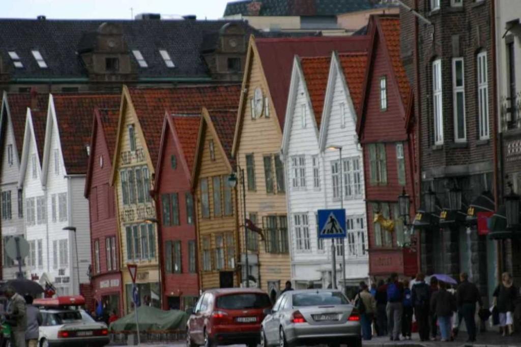 Bild 3089 - Norwegen, Bergen, Bryggen