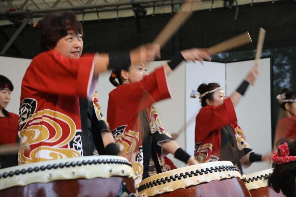 227_0602_18 Sept 2011_Gartenfest_Japan_Show_Trommel_Tanz_Orchester