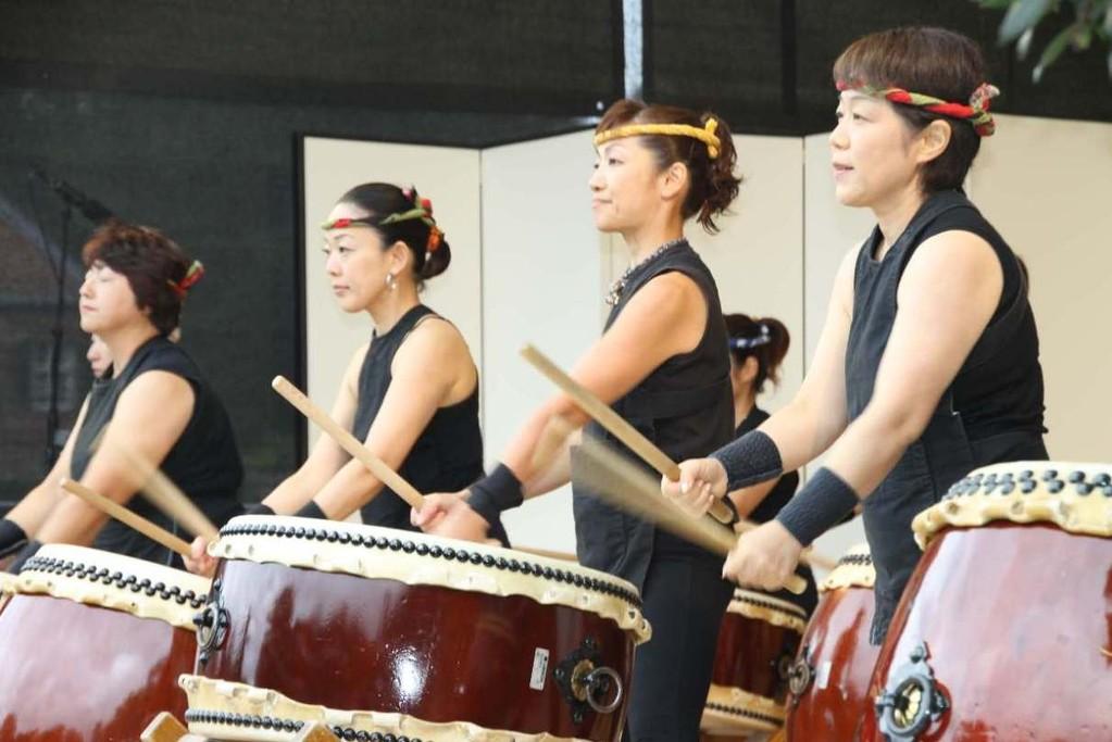 201_0536_18 Sept 2011_Gartenfest_Japan_Show_Trommel_Tanz_Orchester