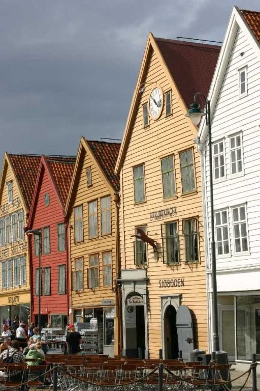 Bild 3197 - Norwegen, Bergen, Bryggen