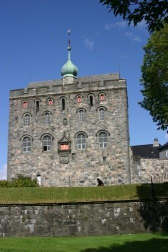 Bild 2972 - Norwegen, Bergen, Bergenhus  & Hakonshalle