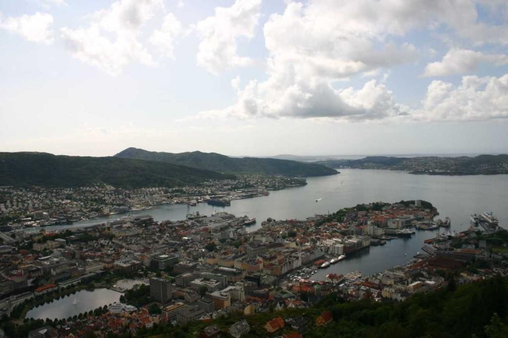 Bild 3152 - Norwegen, Bergen, auf dem Fløyen
