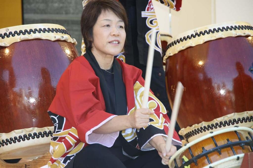 160_0143_16 Sept 2011_Gartenfest_Japan_Taiko_Große Japanische Trommel