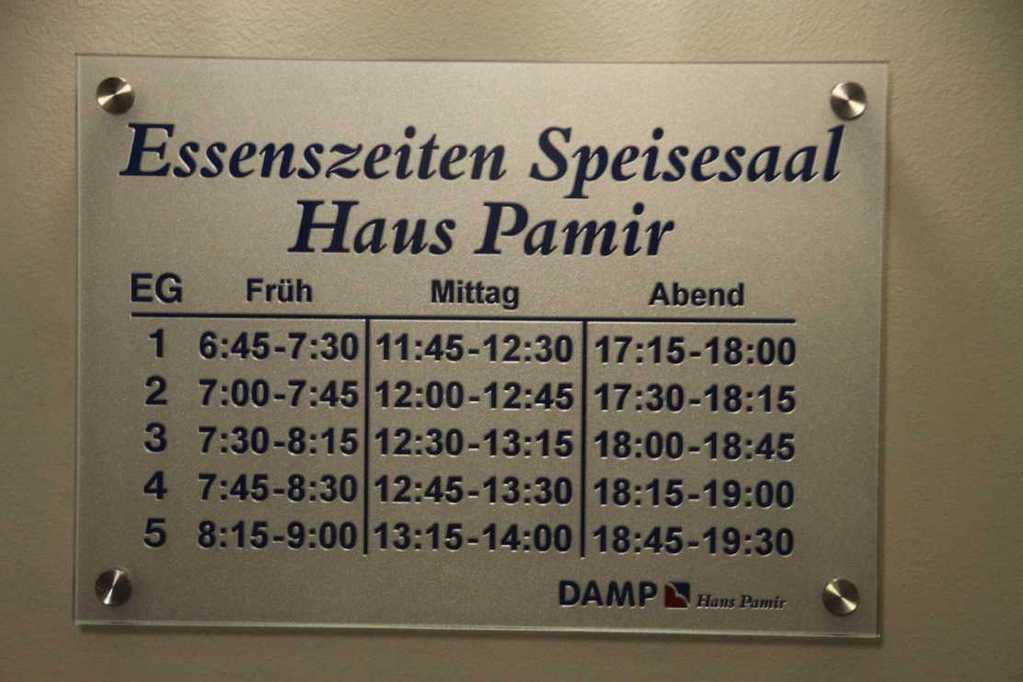 0262_19 Aug 2011_Damp_Reha-Klinik_Haus Pamir_Essenszeiten