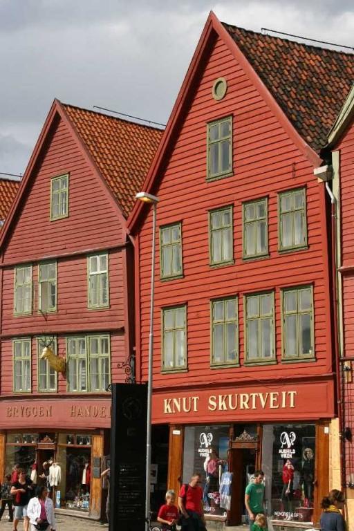 Bild 3187 - Norwegen, Bergen, Bryggen