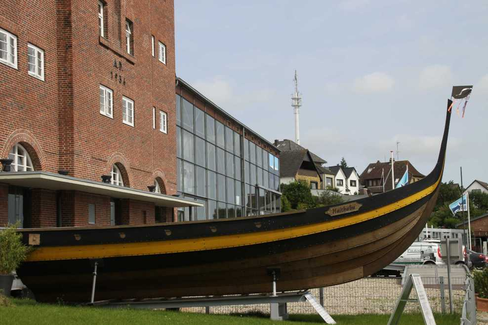 0088_06 Aug 2011_Kappeln_Wikingerschiff Haithabu