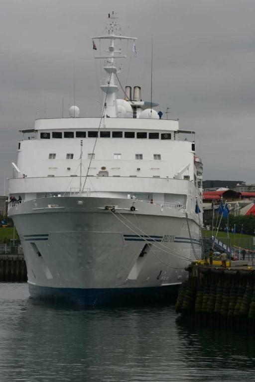 Bild 0538 - Island / MS Delphin im hafen von Reykjavik