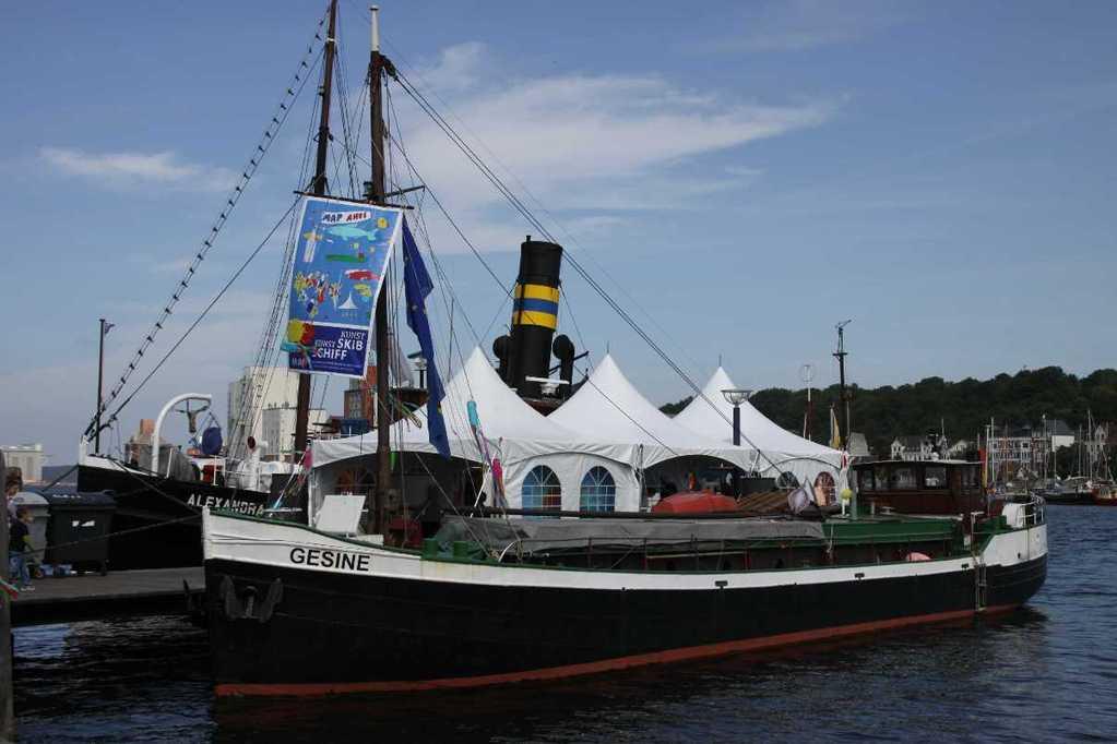 0020_30 Juli 2011_Flensburg_Historischer Hafen_Gesine