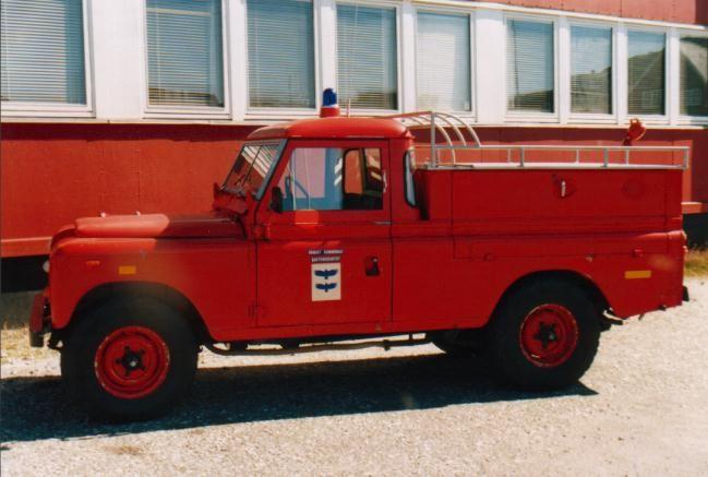 Feuerwehrauto in Paamuit / Grönland