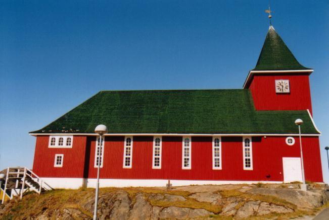 Kirche in Sisimuit / Grönland