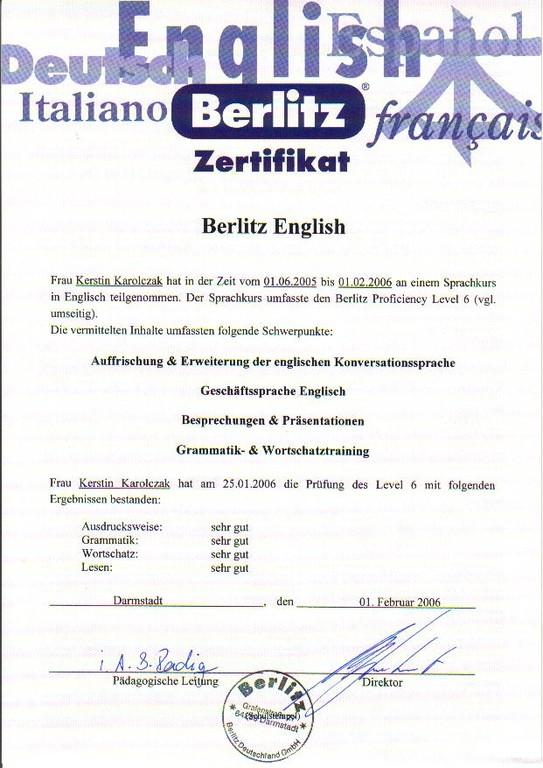 20050601_Englisch_Berlitz_Level 6