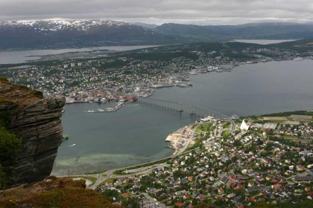 Bild 2299 - Norwegen, Tromsö, Fjellheisen, Eismeerkathedrale