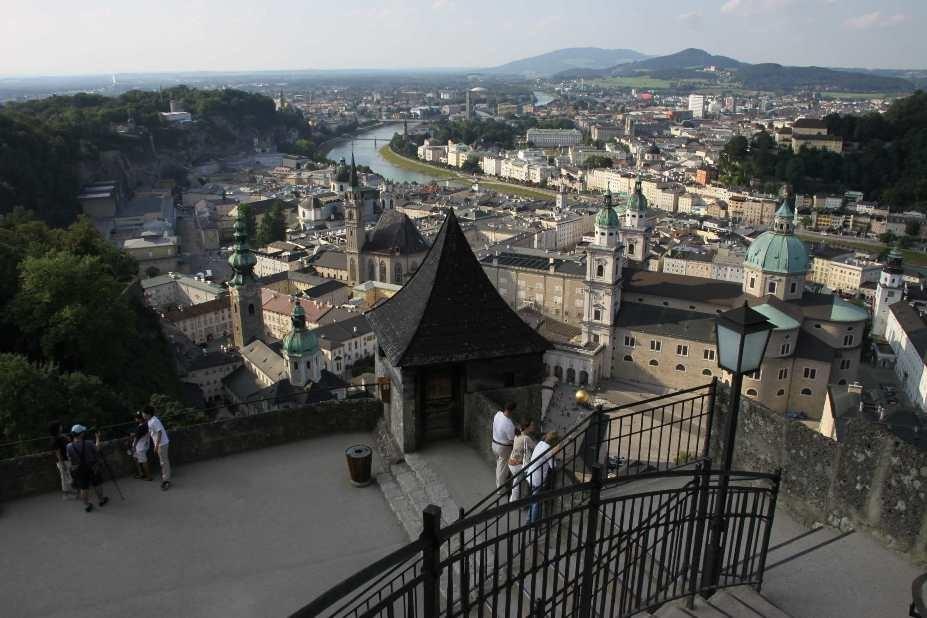 0374_21 Aug 2010_Salzburg_Festung Hohensalzburg_Innenhof_Aussicht_Dom