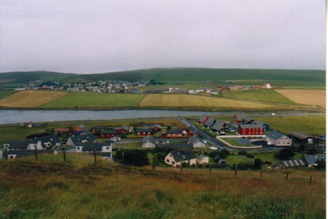 Scalloway, Mainland / Shetland Inseln (UK)