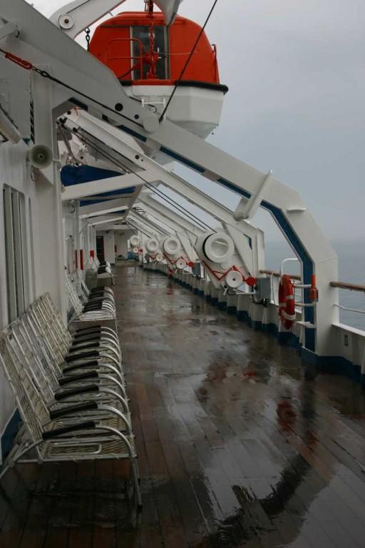 Bild 0860 - MS Delphin auf See, Regentag