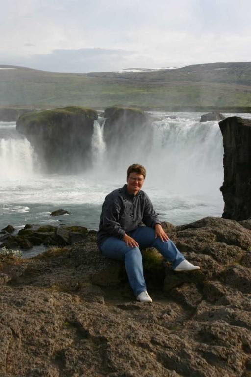 Bild 0818 - Island / Godafoss-Wasserfall