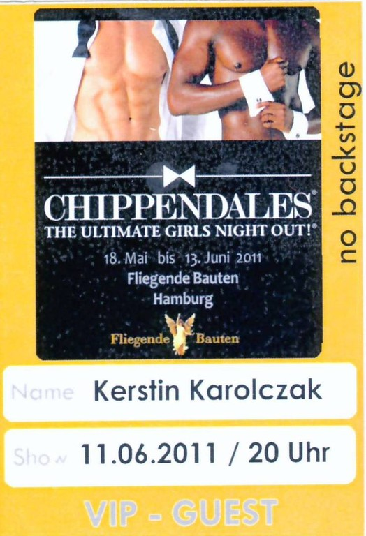 0000c_11 Juni 2011_Chippendales in HH_VIP-Pass
