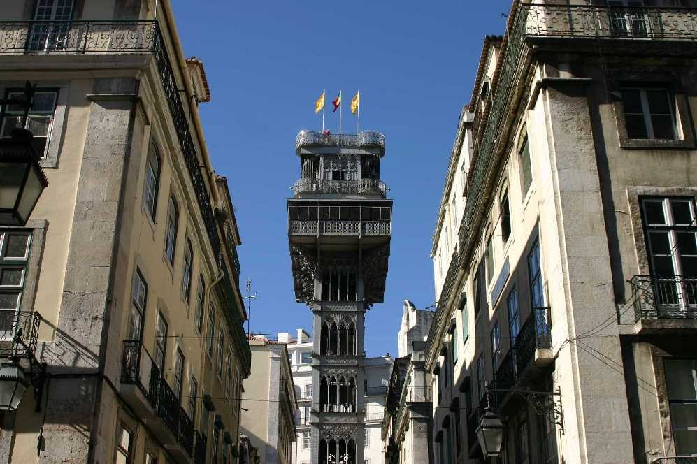 0494_01 Nov 07_Lissabon_Elevador de Santa Justa