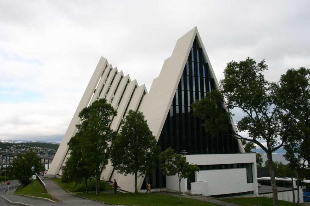 Bild 2368 - Norwegen, Tromsö, Eismeerkathedrale