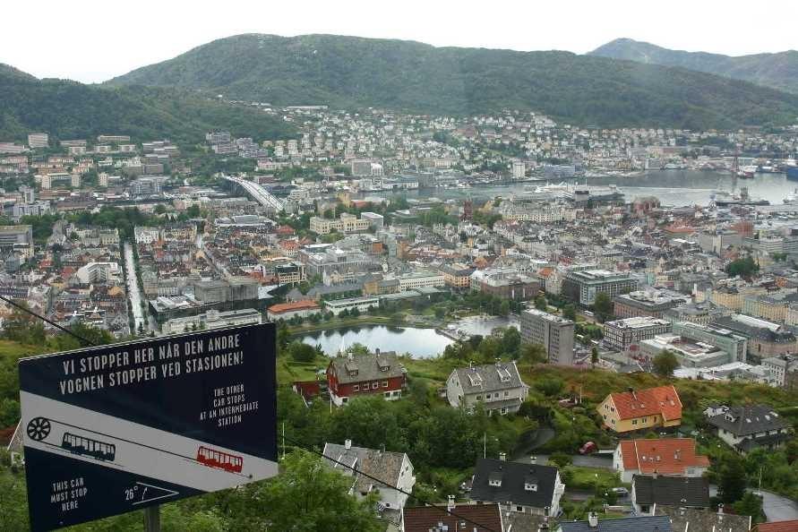 Bild 3111 - Norwegen, Bergen, auf dem Fløyen