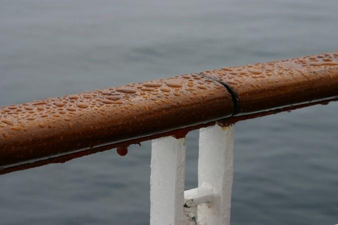 Bild 0853 - MS Delphin auf See, Regentag