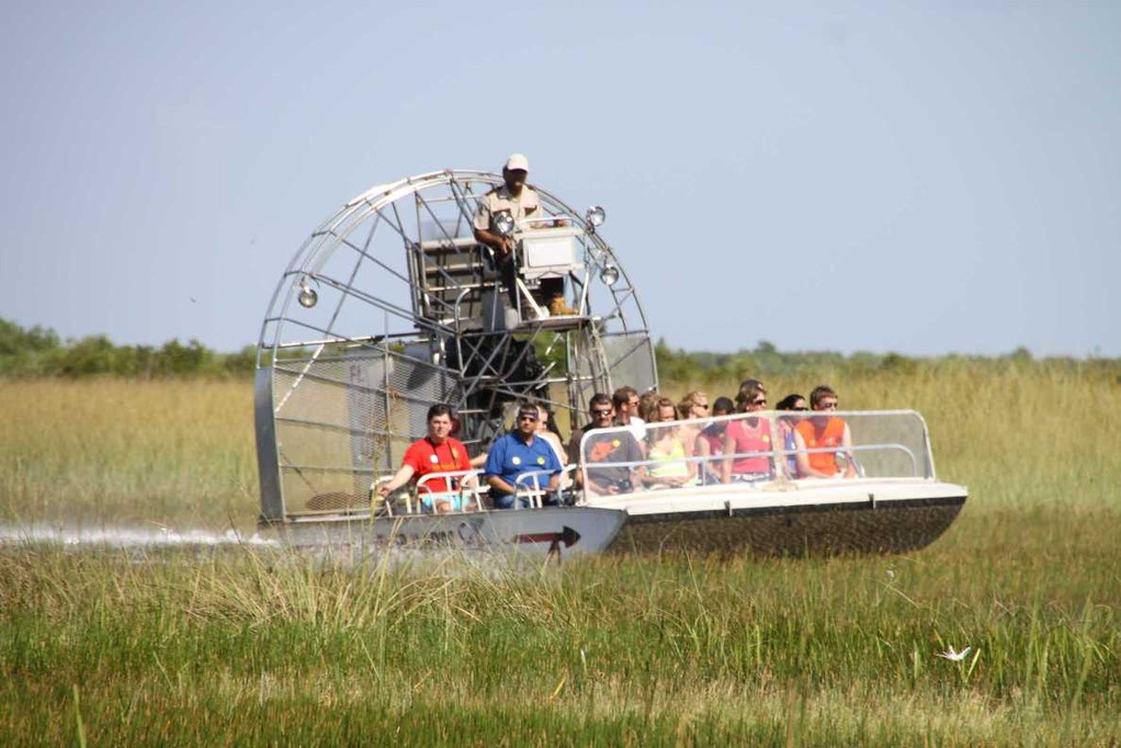 1709_14 Juni 2010_Everglades_Airboat Ride_Sümpfe_Boot