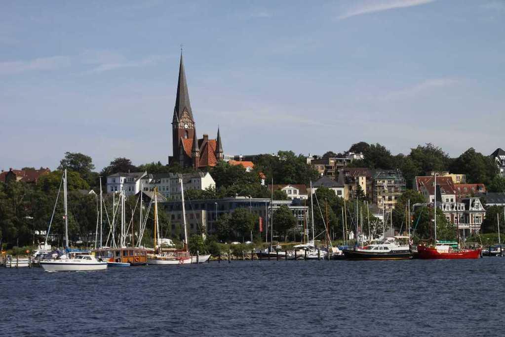 0231_30 Juli 2011_Flensburg_Hafen_Kirche St. Jürgen