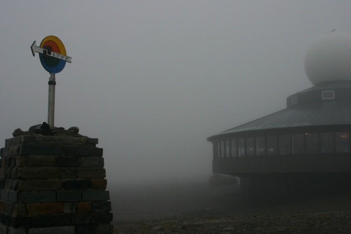 Bild 2132 -  Norwegen, Nordkap, Restaurant