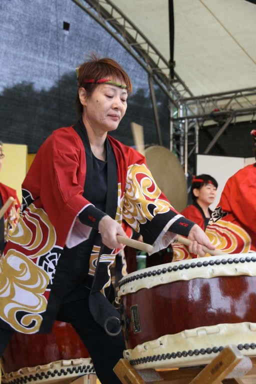 230_0608_18 Sept 2011_Gartenfest_Japan_Show_Trommel_Tanz_Orchester