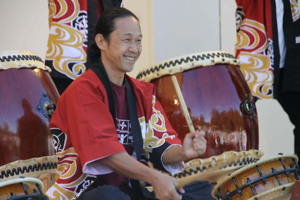 161_0144_16 Sept 2011_Gartenfest_Japan_Taiko_Große Japanische Trommel