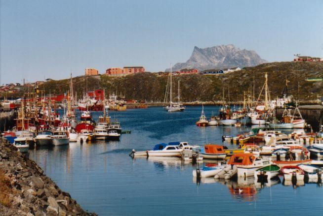 Hafen von Nuuk / Grönland