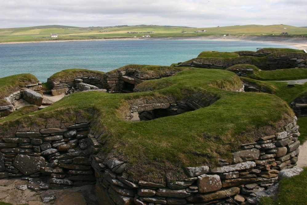 Bild 0239 - Orkney Inseln, Skara Brae