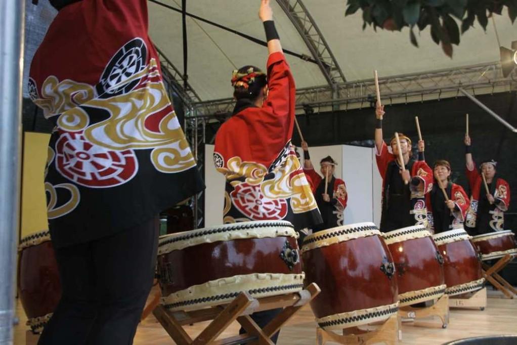 232_0613_18 Sept 2011_Gartenfest_Japan_Show_Trommel_Tanz_Orchester