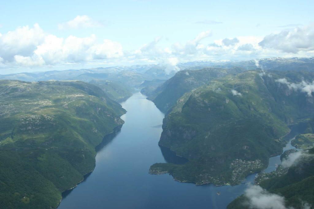 Bild 2999 - Norwegen, Bergen, Rundflug Wasserflugzeug