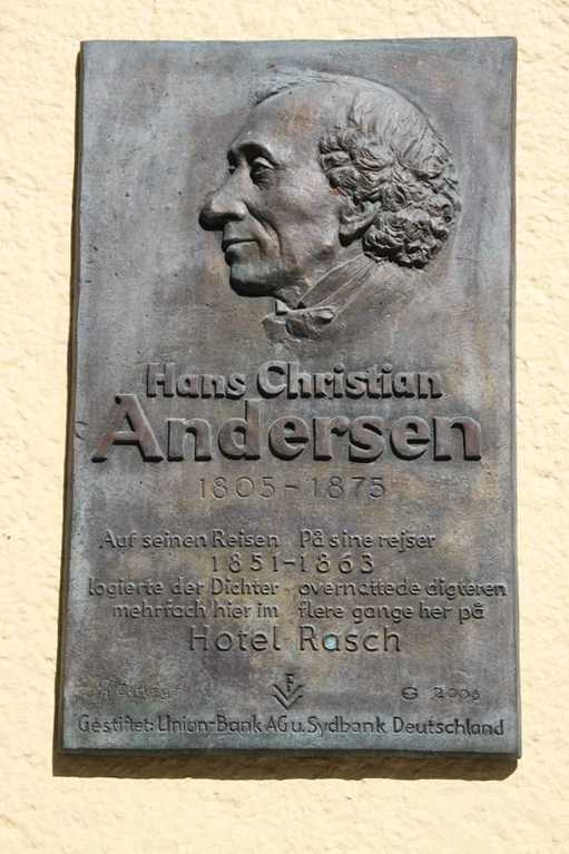 0271_30 Juli 2011_Flensburg_Gedenktafel_Hans Christian Andersen