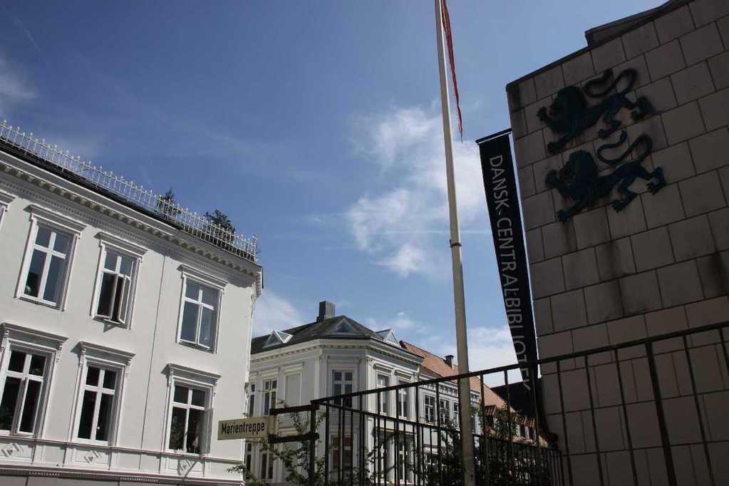 0109_30 Juli 2011_Flensburg_Marientreppe_Danks Centralbibliotek