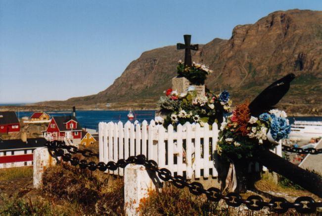Denkmal in Sisimuit / Grönland