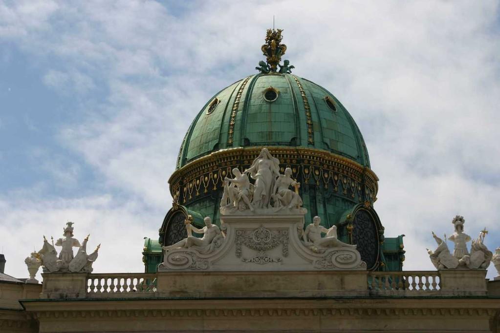 0432_22 Mai 08_Wien_Alte Hofburg_Michaeler Platz_Kuppel