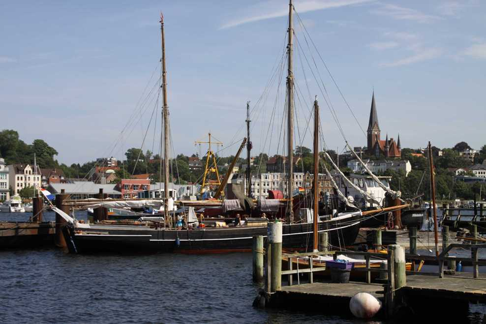 0209_30 Juli 2011_Flensburg_Museumshafen_Kirche St. Jürgen