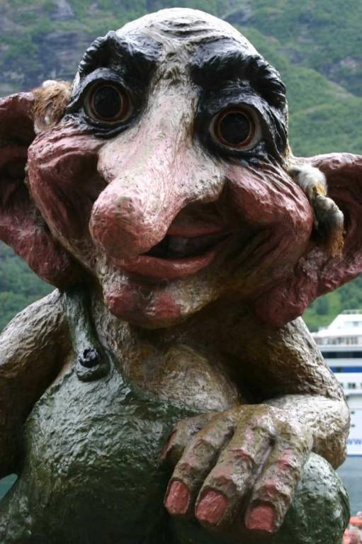 Bild 2749 - Norwegen, Geiranger, Troll