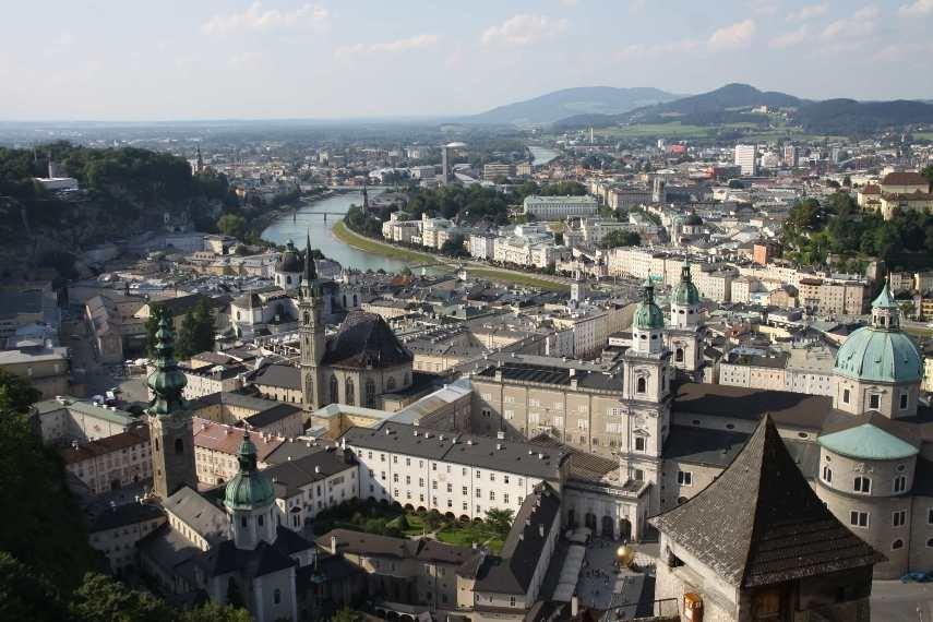 0336_21 Aug 2010_Salzburg_Festung Hohensalzburg_Innenhof_Aussicht_Dom